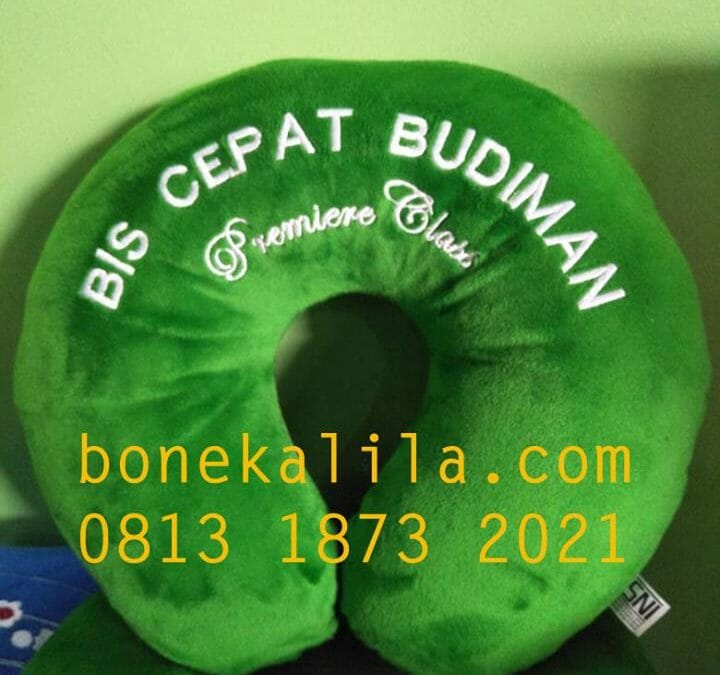 Produksi Souvenir Bantal Leher | 0813 1873 2021