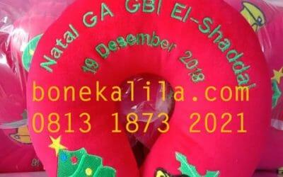 Bantal Leher Murah | Souvenir Bantal Leher 081318732021