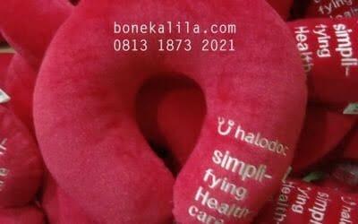 Pengrajin Bantal Leher Halodoc | Pabrik Bantal Leher