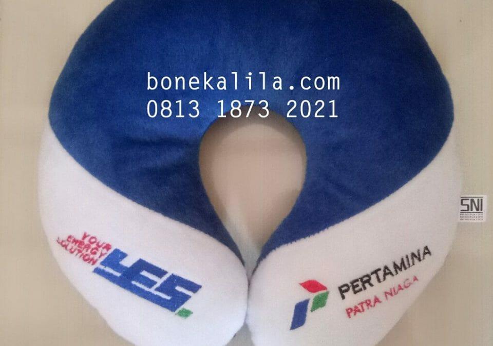 Produksi Bantal Leher Perusahaan Pertamina | Jual Bantal Leher