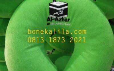 Souvenir Bantal Leher Al Azhar | Produksi Bantal Leher