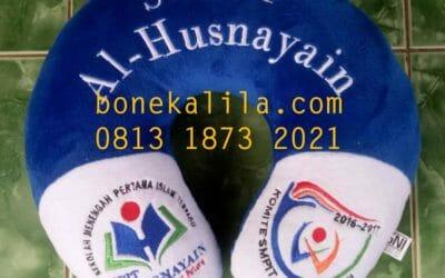 Souvenir Bantal Leher Alhusnaiyan | Pabrik Bantal Leher