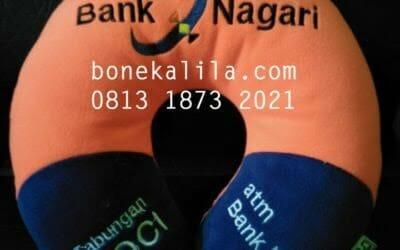 Souvenir Bantal Promosi Bank Nagari | Pabrik Bantal Promosi