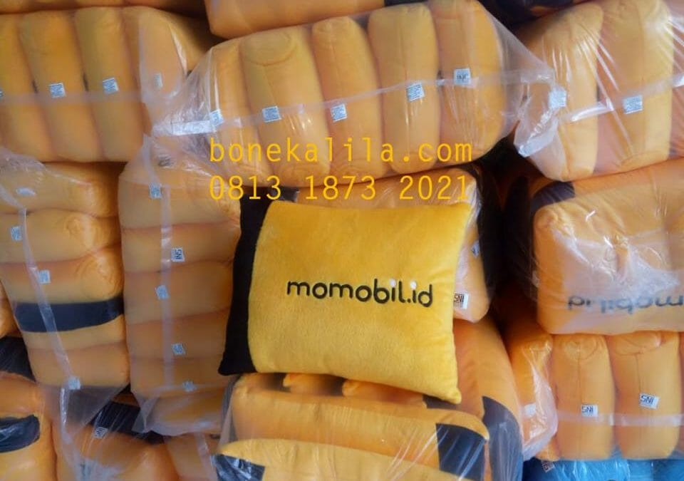 Souvenir Bantal Promosi Momobil | Pabrik Bantal Promosi