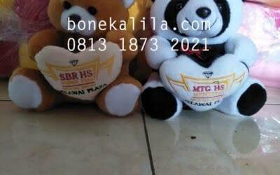 Souvenir Boneka MTG | Produksi Boneka Promosi