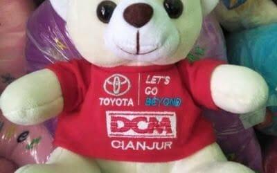 Souvenir Boneka Toyota | Produksi Boneka Promosi