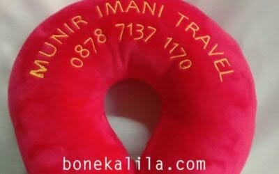 Pabrik Bantal Leher Custom Travel Umroh 0813 1873 2021