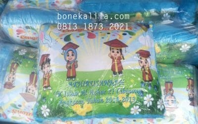 Souvenir Bantal Promosi Ulang Tahun | Pabrik Bantal Promosi